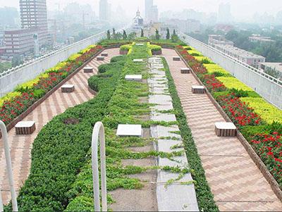 屋顶花园绿化设计案例
