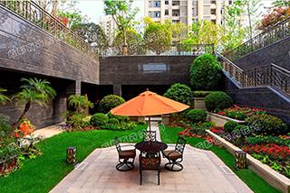 成都庭院绿化设计案例