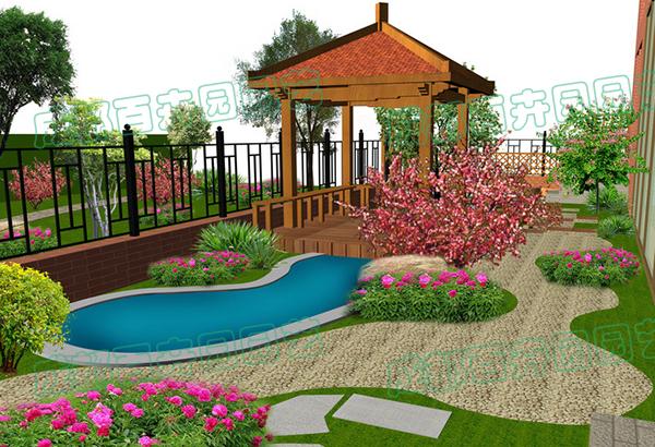 庭院绿化设计案例效果图