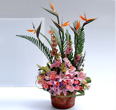 鲜花插花艺术租赁